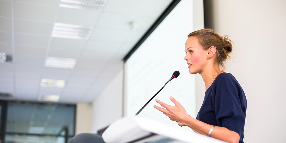 Public Speaking for Top managers (Italian course - sign up now to secure your spot!)