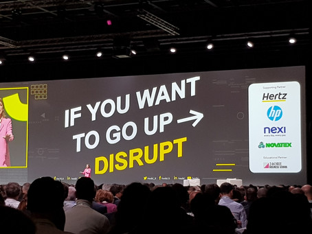If you want to go up, DISRUPT!