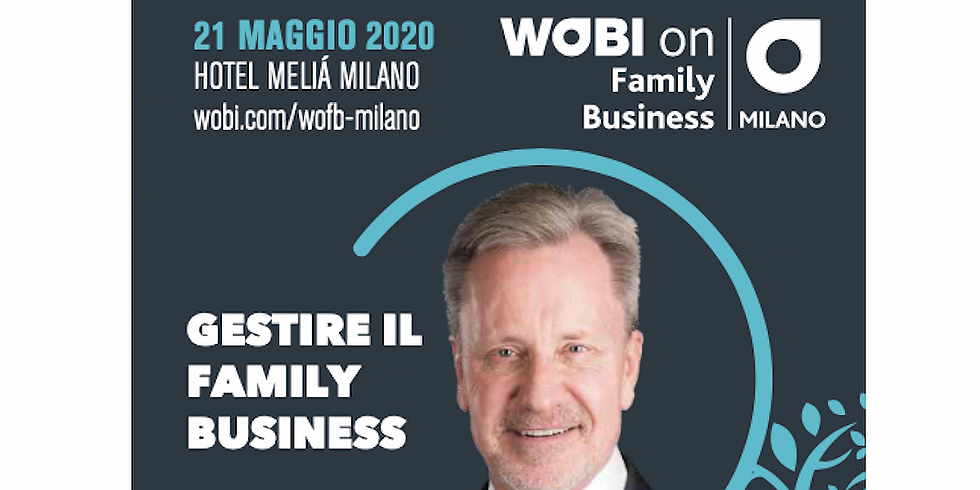 WOBI on Family Business - WayOut è Supporting Partner