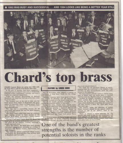 Chard Concert Brass 1993