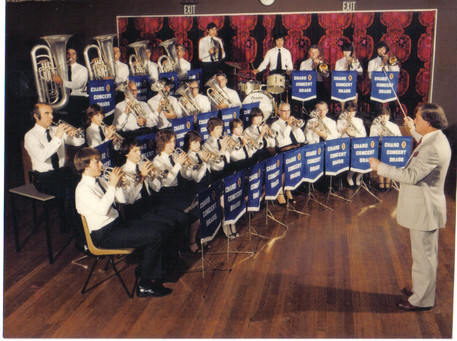 Chard Concert Brass 1970s