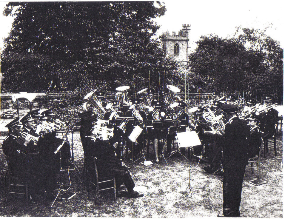 Chard Town Band 1950s