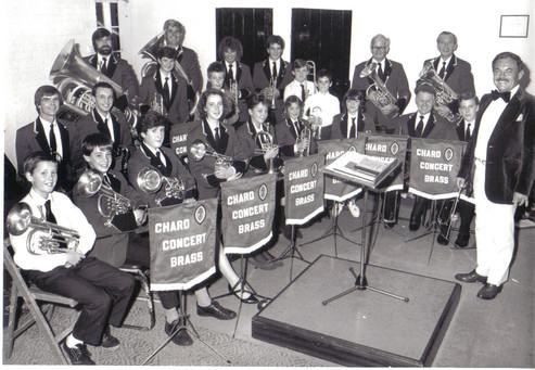 Chard Concert Brass 1980s