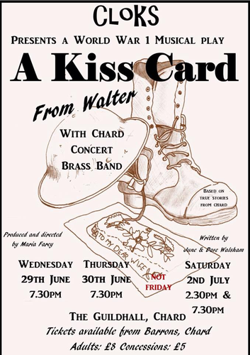 A Kiss Card From Walter Poster