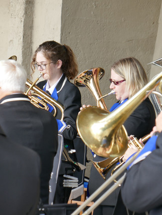 Horns at Lyme Regis 2017