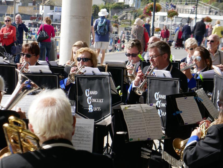Cornets at Lyme Regis 2017