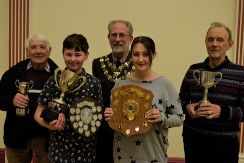Award winners AGM 2019