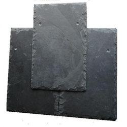black roof slates