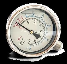 Manômetro NH3 MS Instrumentação Industrial