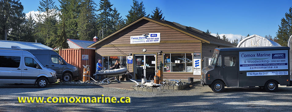 Comox marine and woodworking retail stor