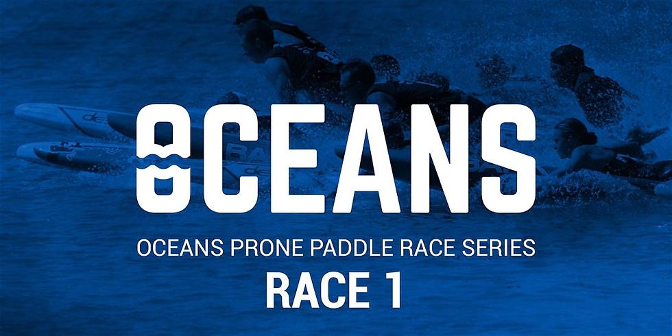 Oceans Prone Paddle Race Series - Race 1