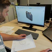 CAD Engineering eines 3D-Druck Bauteils