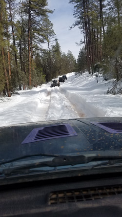 Deep Snow in Payson