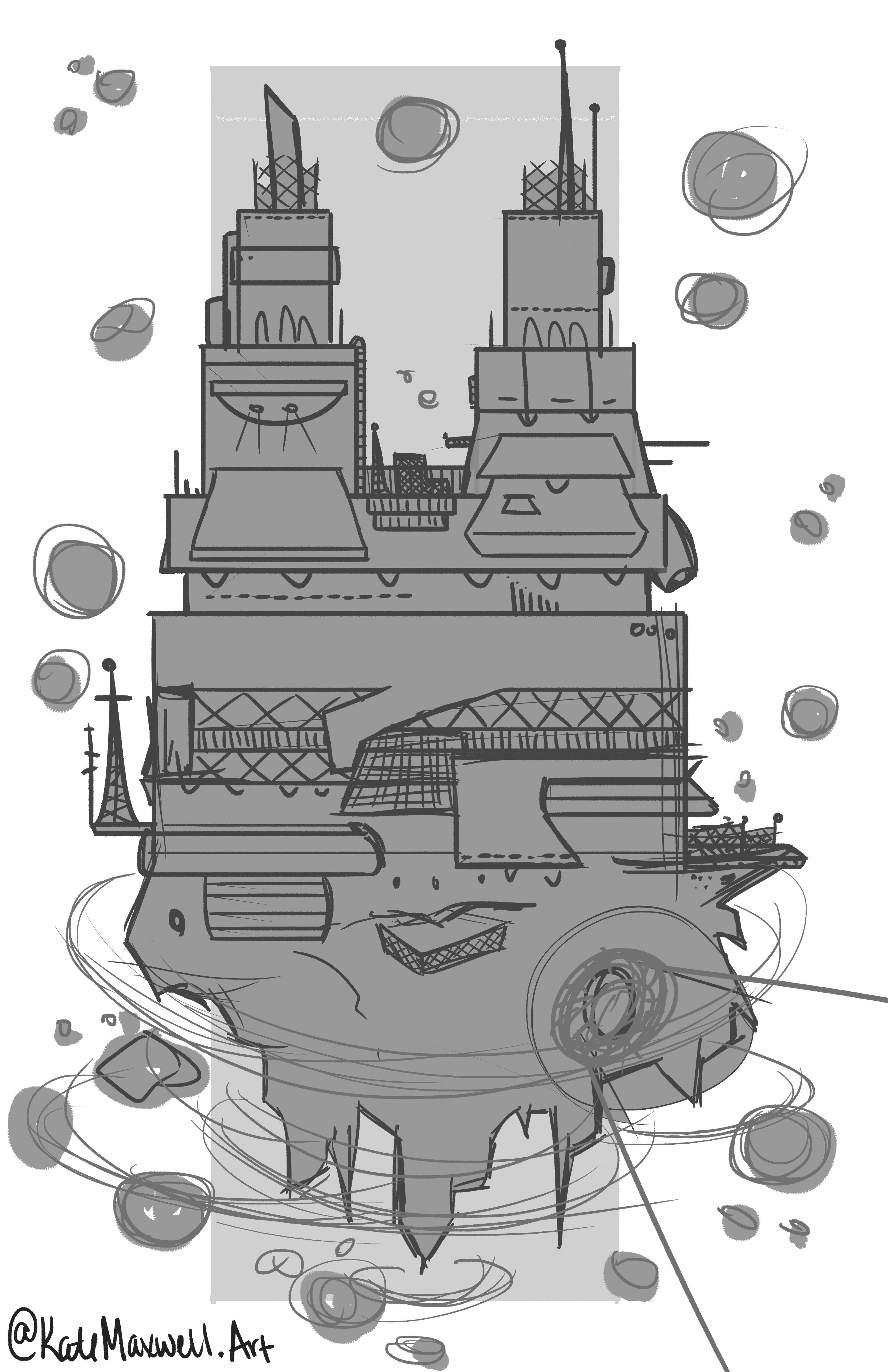 The Kiln sketch