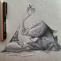 California Condor doodle
