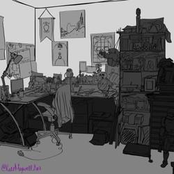 desk stilllife