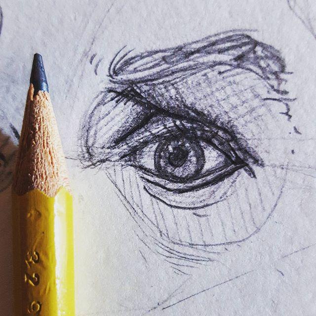 👁Tiny eye doodle 👁