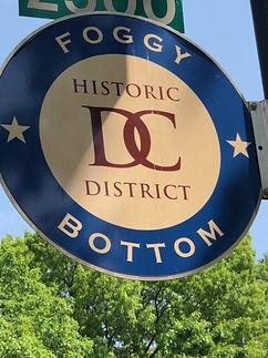 Foggy Bottom History Districk Sign.JPG