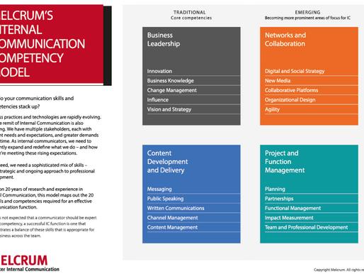 Melcrum presenta su modelo de competencias de la Comunicación Interna