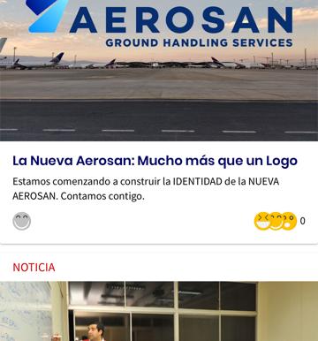 Insidecom implementa exitosamente App. de Comunicaciones Internas en AEROSAN