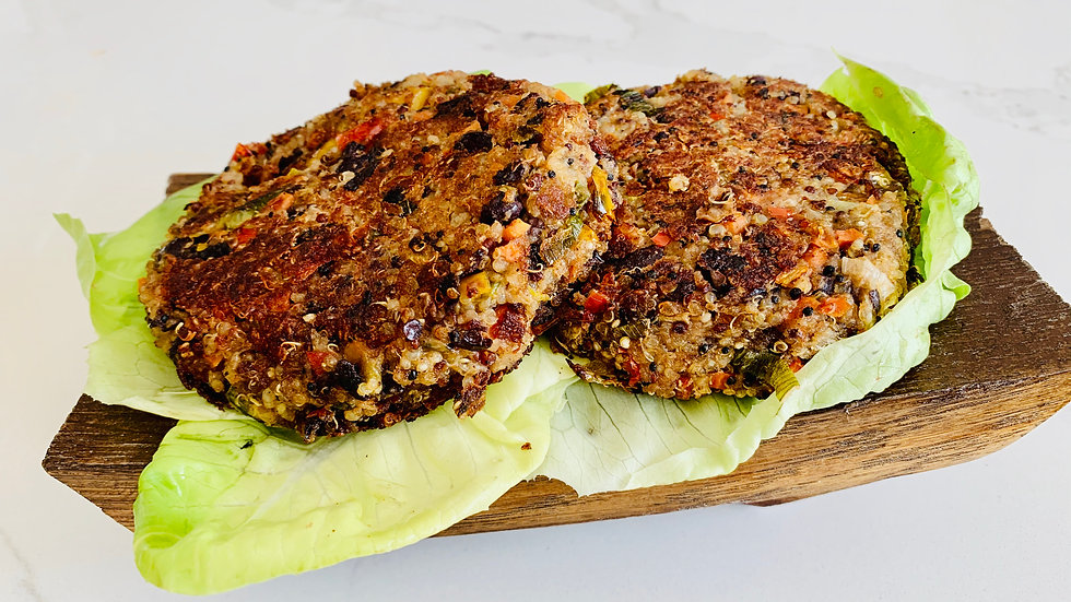 Quinoa Vegan Burger