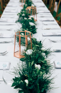Greenery Table Runner