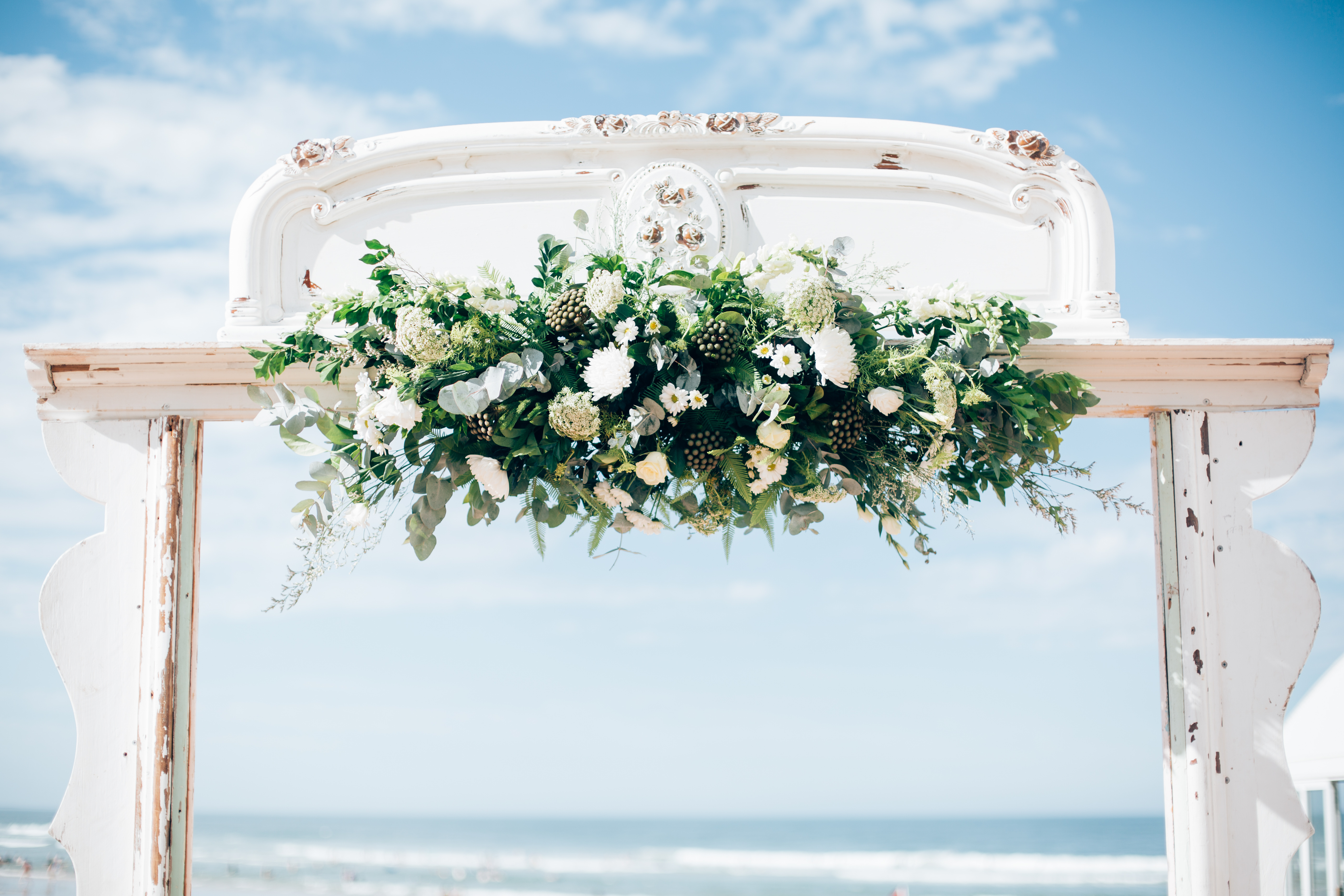 Gold Coast Wedding White Arbour