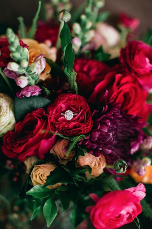 Bridal Bouquet Bright & Seasonal