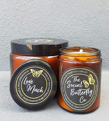 The Social Butterfly Co. Candles