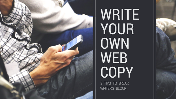 Title slide: Write Your Own Web Copy