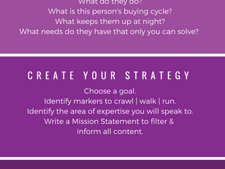 Content Strategy Cheat Sheet