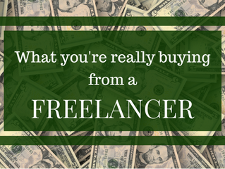 3 Things You're REALLY Buying from a Freelancer