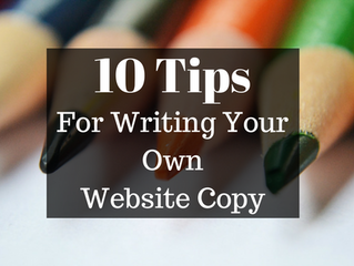 10 Tips: Writing Your Own Website Copy