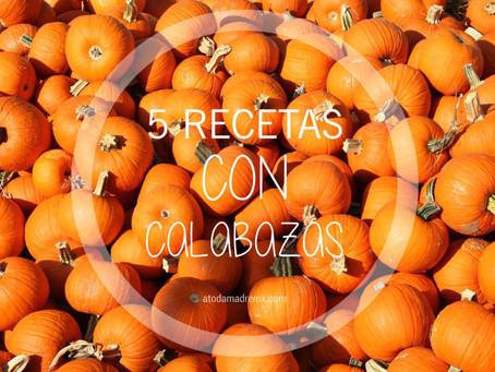 5 RECETAS CON CALABAZA