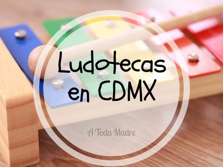 LUDOTECAS EN LA CDMX