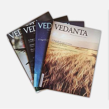 Revista Vedanta - Diversos títulos - Preço unitário