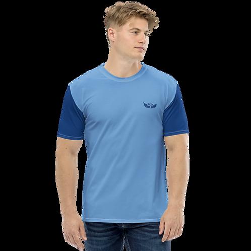 Men's T-shirt - Royal Blue/Blue - EDM J to F Logo