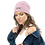 Thumbnail: Womens Beanie - EDM J to F Snake Print Pink
