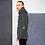 Thumbnail: Mens Unisex Hoodie - GS Music Academy Ape DJ - Charcoal