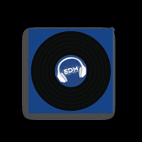 Square Canvas 12x12 / 16x16  - EDM J to F Record - Royal Blue