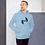 Thumbnail: Mens Unisex Hoodie EDM J to F Logo Print Black - Various