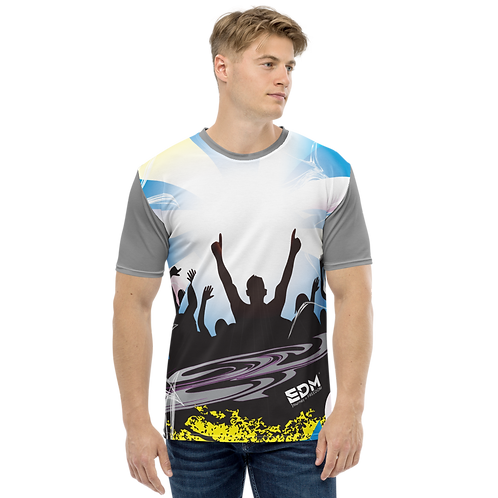 Men's T-shirt - EDM J to F Crowd - Grey/Multi