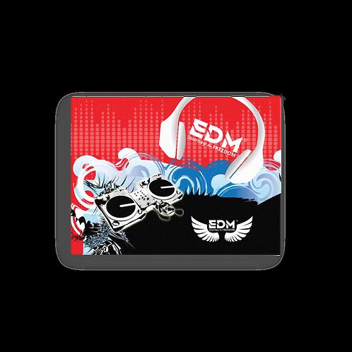 Canvas Assorted Sizes - EDM J to F DJ Decks - Red / Black / Blue / White