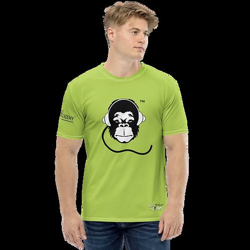 Men's T-shirt - GS Music Academy Ape DJ - Green