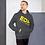 Thumbnail: Mens Unisex Hoodie EDM J to F Logo Yellow - Various
