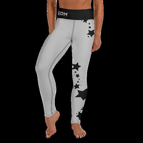 Women's Leggings Black Star - EDM J to F Grey