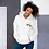 Thumbnail: Women's Unisex Various Hoodie EDM J to F Headphones Gold - White