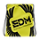 Thumbnail: Lime Yellow Drawstring Bag - EDM Journey to Freedom Large Print - Black