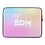 "Thumbnail: Laptop Sleeve - 13"", 15"" - EDM J to F Sound Bars Tye Dye Pastels/White"