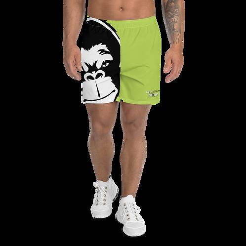 Men's Long Shorts - GS Music Academy - Large Ape DJ Green